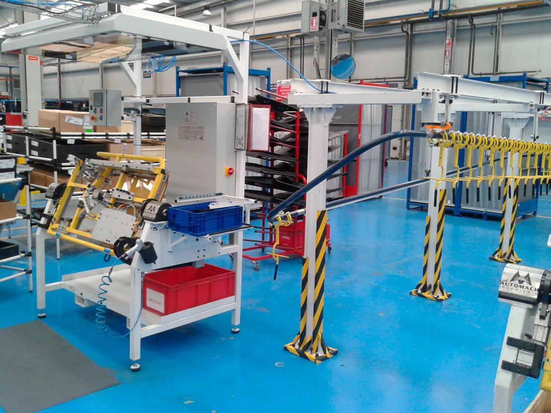 ensamblaje maneta puerta VWPolo - automoción - Automach Ingeniería