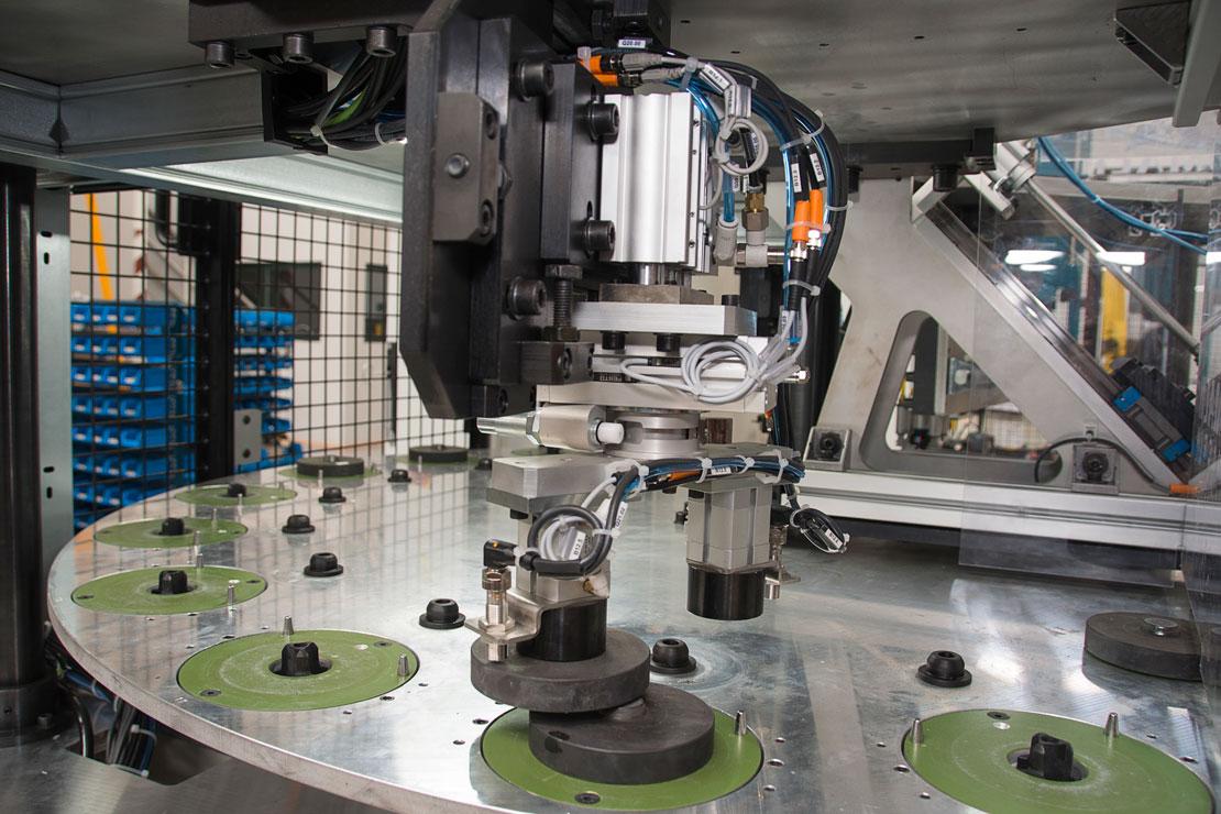 pegado en discos - abrasivos - Automach Ingeniería