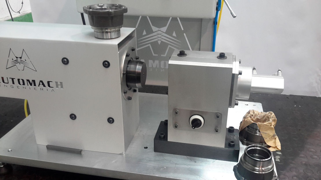 Banco de pruebas hilo magna - automoción - Automach Ingeniería