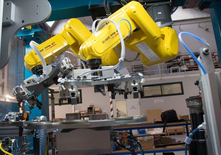 Repeladora robotizada - automoción - AutoMach Ingeniería