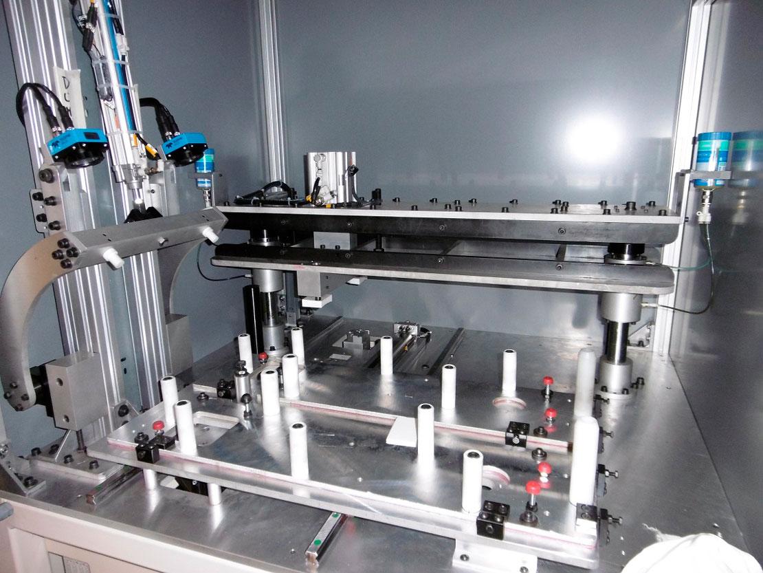 troquelado y comprobación vision-automoción - Automach Ingeniería