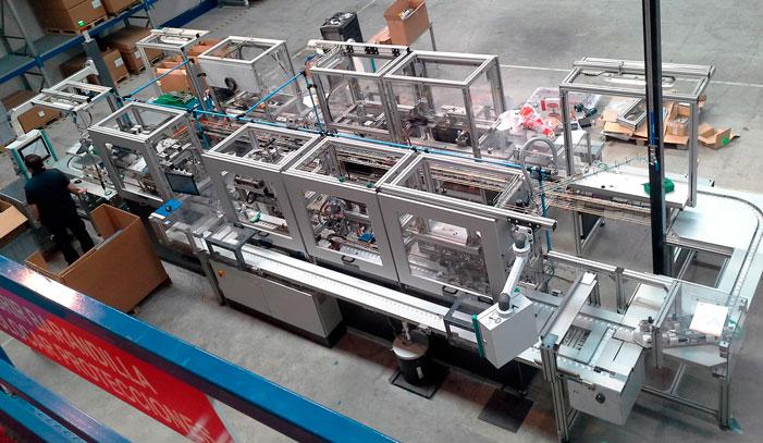 Líneas transfer y manipuladores - Automach Ingeniería
