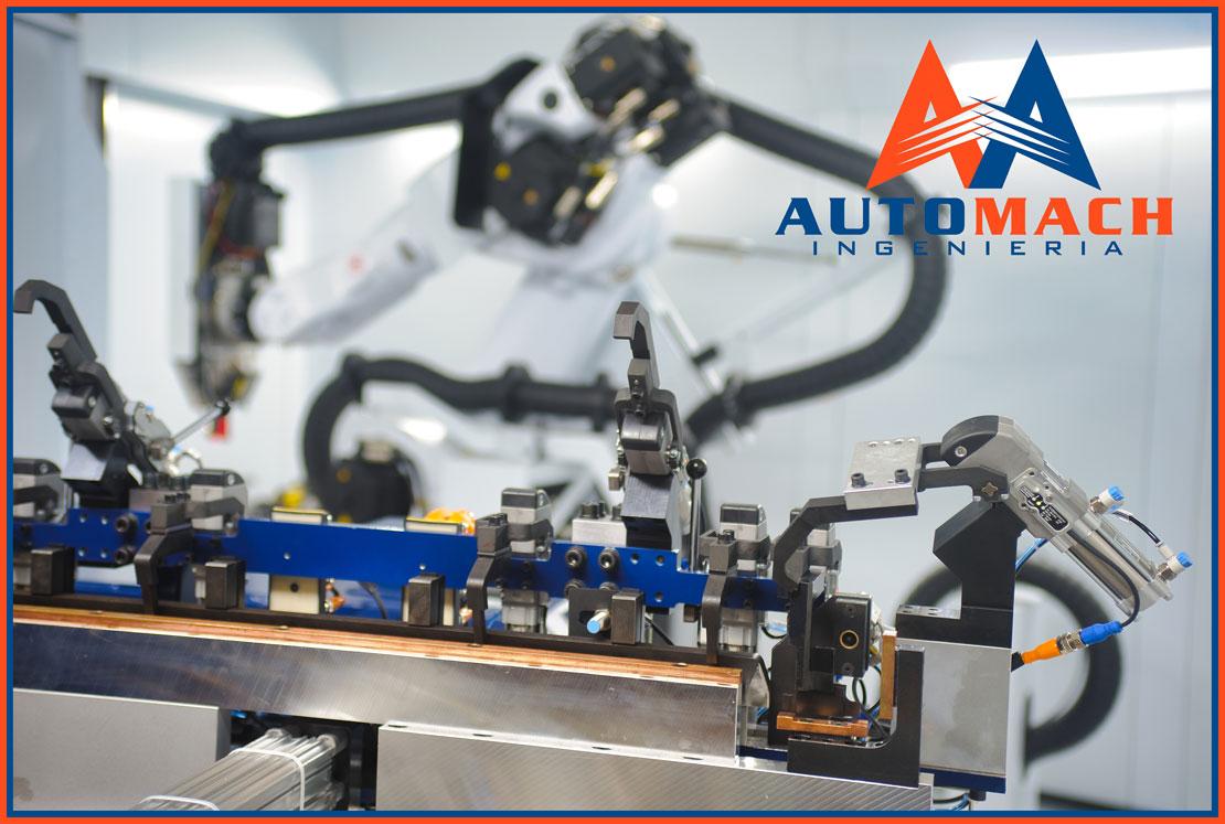 Útiles de soldadura, mecanizado y control - Automach Ingeniería
